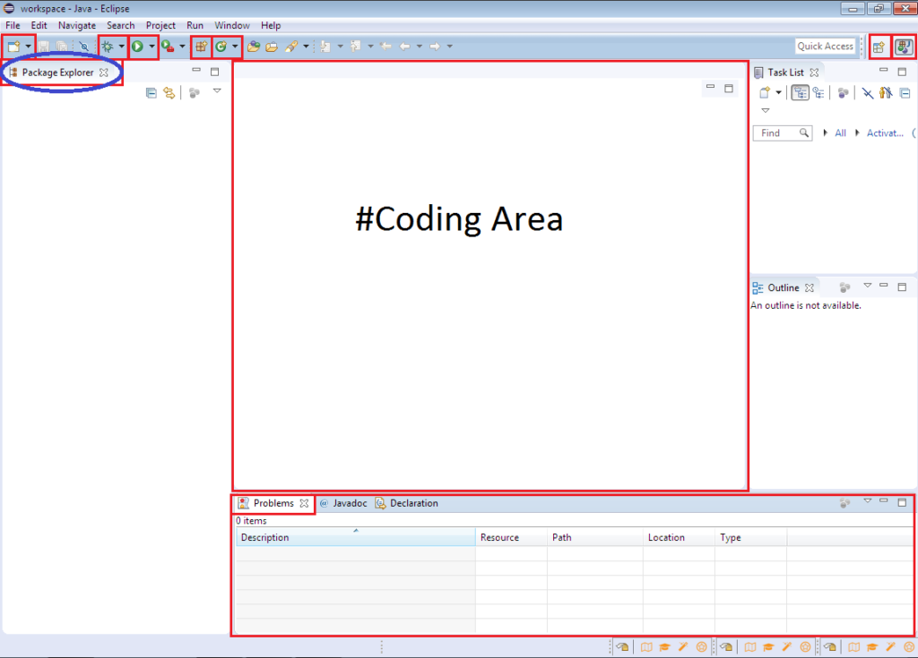 Package Explorer in Eclipse IDE